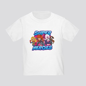 Super Heroes Toddler T-Shirt