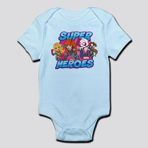 Super Heroes Baby Light Bodysuit