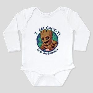 I Am Groot Long Sleeve Infant Bodysuit