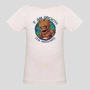 I Am Groot Organic Baby T-Shirt