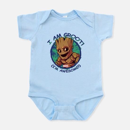 I Am Groot Baby Light Bodysuit