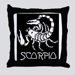 Scorpio Throw Pillow