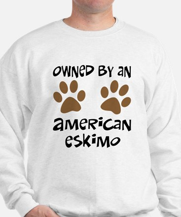 Owned By An American Eskimo Sweatshirt