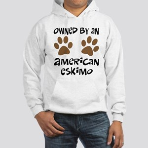 Owned By An American Eskimo Hooded Sweatshirt