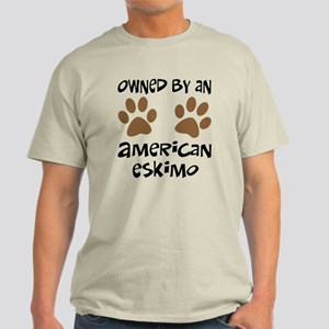 Owned By An American Eskimo Light T-Shirt
