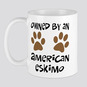 Owned By An American Eskimo Mug