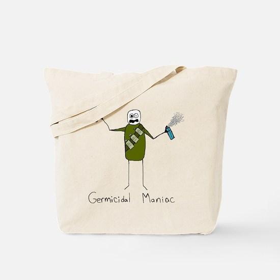 Germicidal Maniac Tote Bag