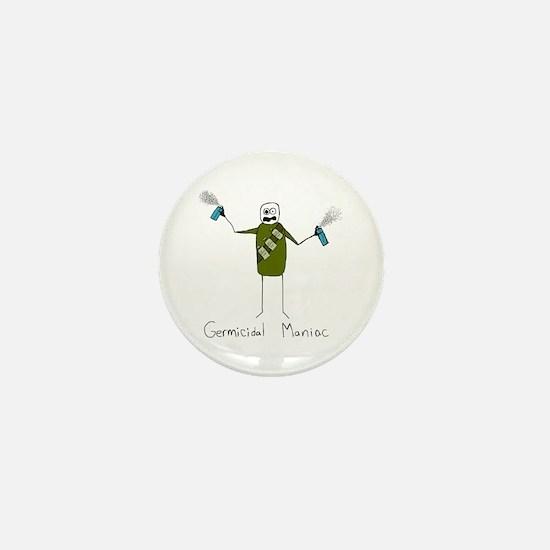 Germicidal Maniac Mini Button