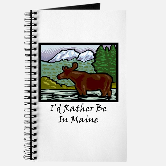 I'd Rather Be In Maine Journal