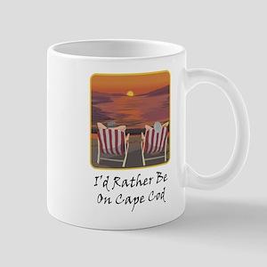 I'd Rather Be At Cape Cod Mug