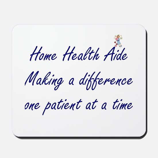 Home Health Aide Mousepad