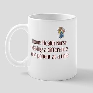 Home Health Nurse Mug
