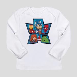 Marvel Avengers Portrai Long Sleeve Infant T-Shirt