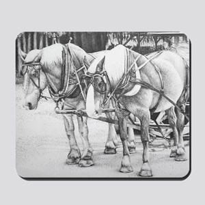 Horse Drawing Mousepad