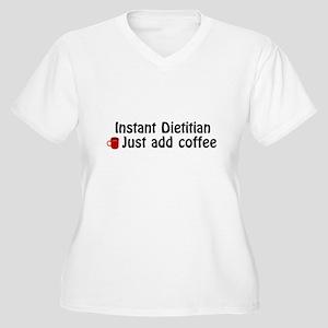Dietitian Women's Plus Size V-Neck T-Shirt