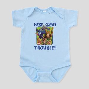 Marvel Trouble Baby Light Bodysuit
