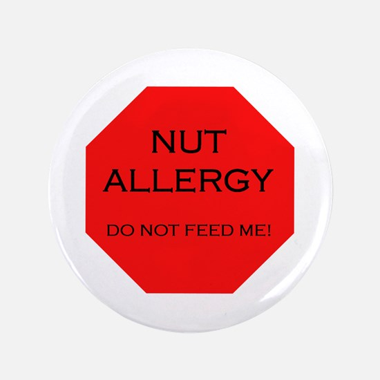 """Funny Allergic to eggs 3.5"""" Button"""