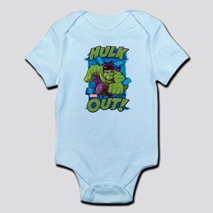 Hulk Out Baby Light Bodysuit