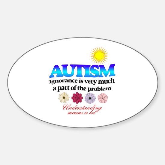 autism ignorance designer Decal