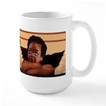 Nubian Cherubs Large Mug