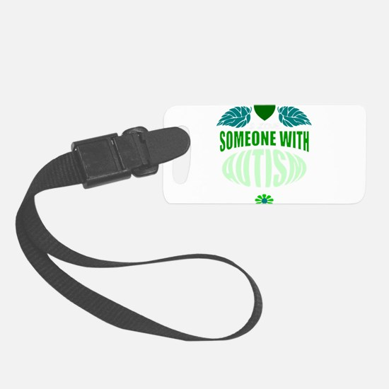 autism green Luggage Tag