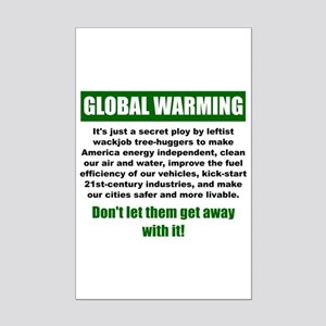 Global Warming Mini Poster Print