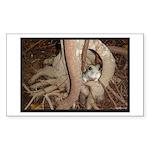 Abby's Tree Sticker (Rectangle)