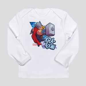 Thor Action Long Sleeve Infant T-Shirt