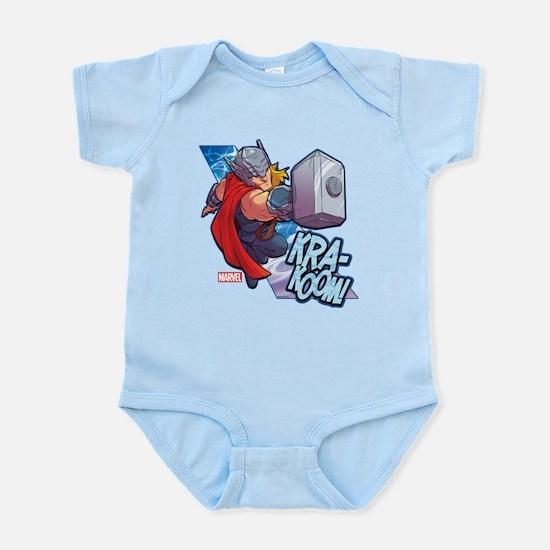 Thor Action Baby Light Bodysuit