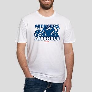 Avengers Assemble Fitted T-Shirt