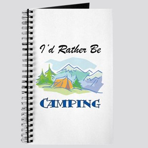 I'd Rather Be Camping Journal