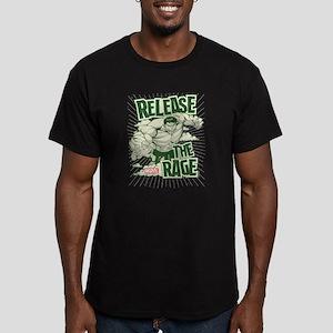 Hulk Rage Men's Fitted T-Shirt (dark)