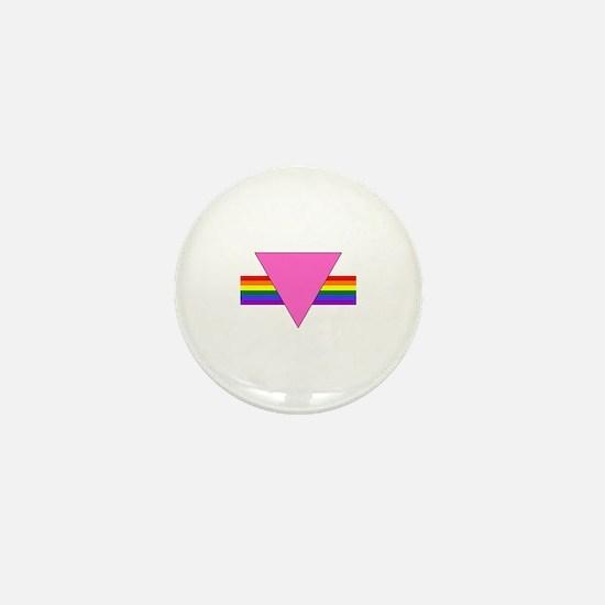 P.T.B.: Mini Button (black edge triangle)