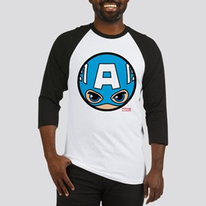Captain America Icon Baseball Tee