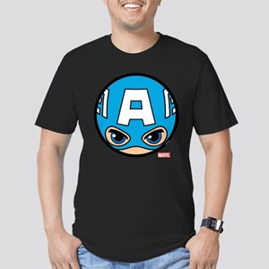 Captain America Icon Men's Fitted T-Shirt (dark)