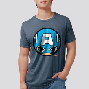 Captain America Icon Mens Tri-blend T-Shirt