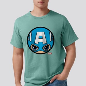 Captain America Icon Mens Comfort Colors Shirt