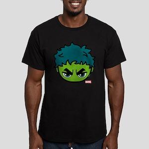 Hulk Icon Men's Fitted T-Shirt (dark)