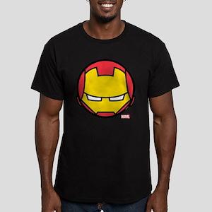Iron Man Icon Men's Fitted T-Shirt (dark)