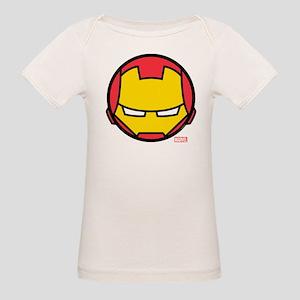 Iron Man Icon Organic Baby T-Shirt