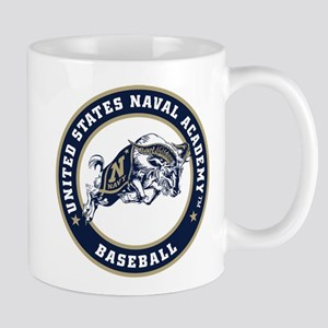 U.S. Naval Academy Bill the Goat 11 oz Ceramic Mug
