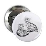 Savannah kittens Button