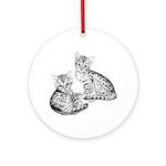 Savannah kittens Keepsake (Round)