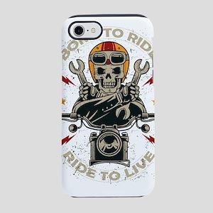 born to ride iPhone 8/7 Tough Case
