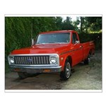 1971 Truck Small Poster