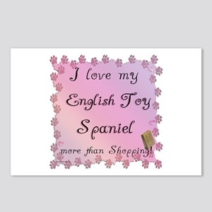English Toy Shopping Postcards (Package of 8)
