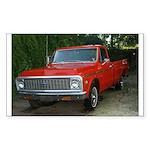 1971 Truck Rectangle Sticker