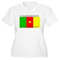 Cameroon Cameroonian Flag T-Shirt