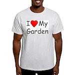 I (Heart) My Garden Ash Grey T-Shirt