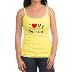 I (Heart) My Garden Jr. Spaghetti Tank